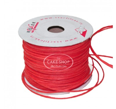 Paper covered wire Red
