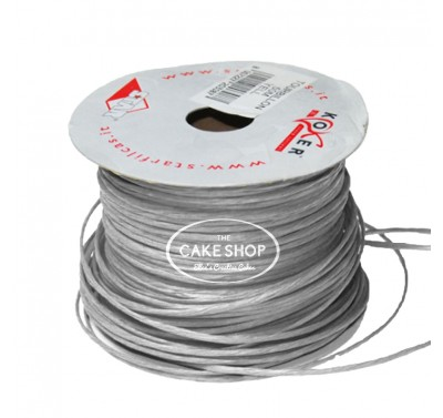 Paper covered wire Silver