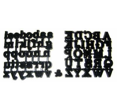 Patchwork Cutters Classic Alphabet