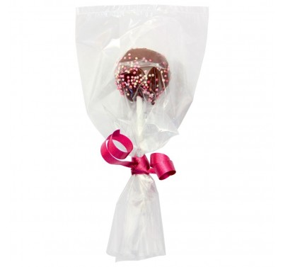 PME Cake Pop Bags with silver ties pk/25