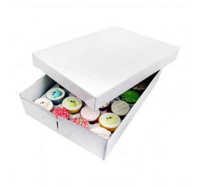 PME Cupcake Box (24) - 9cm high
