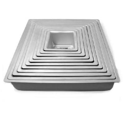 PME Deep Square Cake Pan - complete set