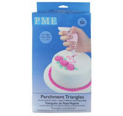 PME Parchment Triangles pk/50