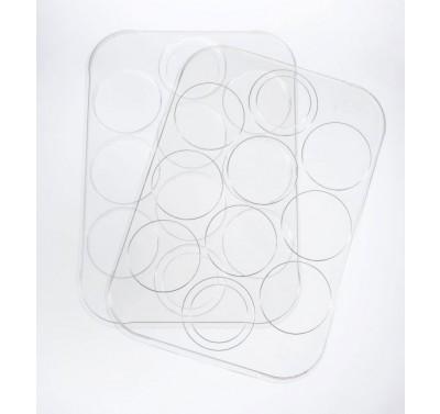 PanPastel - Empty Palette Tray & Cover voor 10 kleuren