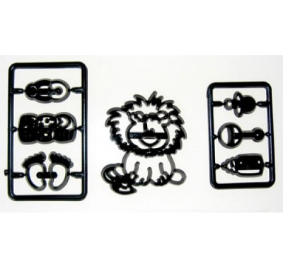 Patchwork Cutters Baby Lion and nursery items