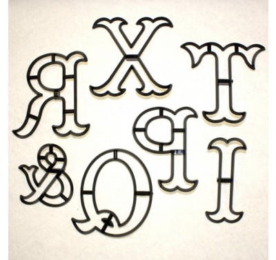 Patchwork Cutters Extra Large Letters - M