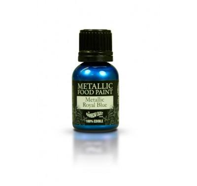 RD Metallic Food Paint Royal Blue 25ml