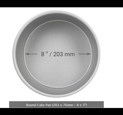 PME Deep Round Cake Pan Ø20cm