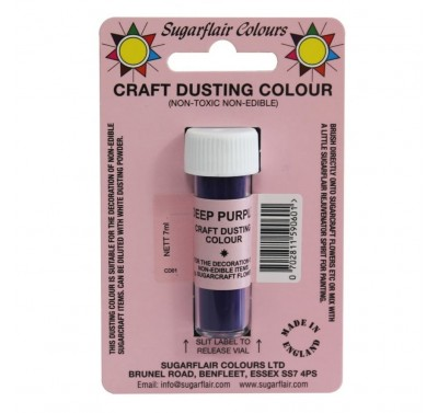 Sugarflair Craft Dusting Colour Non-Edible - Deep Purple