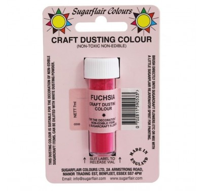 Sugarflair Craft Dusting Colour Non-Edible - Fuchsia