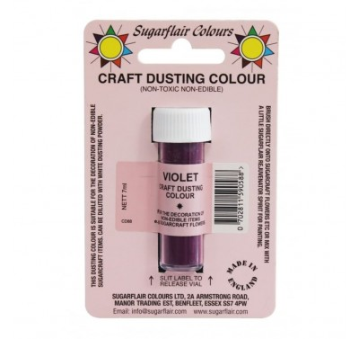 Sugarflair Craft Dusting Colour Non-Edible - Violet