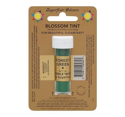 Sugarflair Blossom Tint Edible Dusting Colour - Forest Green