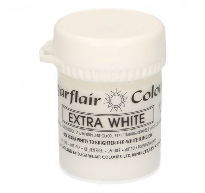 Sugarflair - Max Concentrate Paste Colour EXTRA WHITE 42g