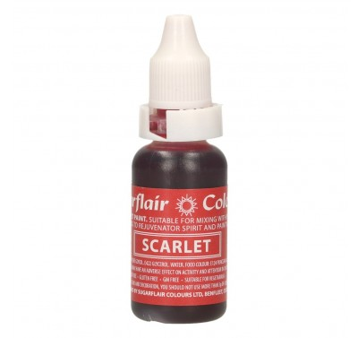 Sugarflair Edible Droplet Paint Scarlet