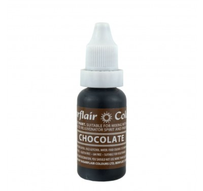 Sugarflair Edible Droplet Paint Chocolate
