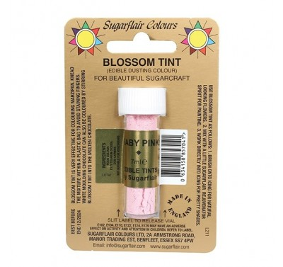 Sugarflair Blossom Tint Edible Dusting Colour - Baby Pink