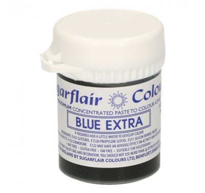 Sugarflair - Max Concentrate Paste Colour BLUE EXTRA  42g
