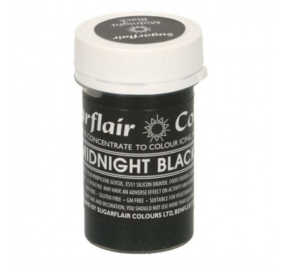 Sugarflair Pastel Midnight Black