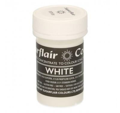 Sugarflair Pastel White
