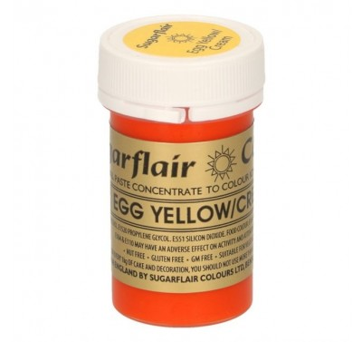 Sugarflair Spectral Egg Yellow/Cream