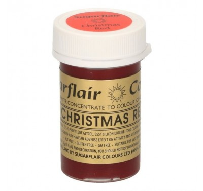 Sugarflair Spectral Christmas Red