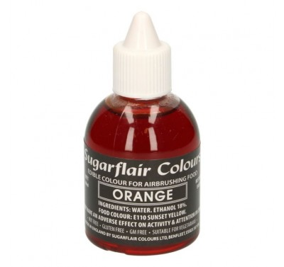 Sugarflair Airbrush Colouring -Orange- 60ml