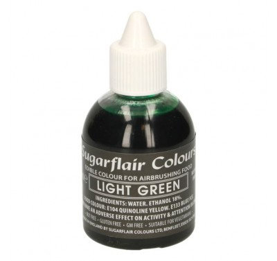Sugarflair Airbrush Colouring -Light Green- 60ml
