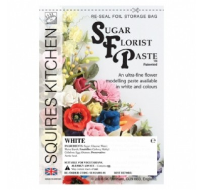 SK SFP Sugar Florist Paste White 200g