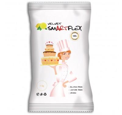 Smartflex Velvet Fondant White - Lemon - Citroen 1kg