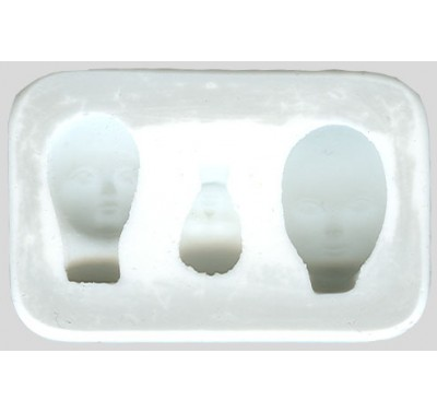 SK Great Impressions Mould Fairy Faces Set/3