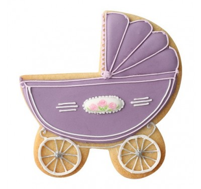 Squires Kitchen Pram Cookie Cutter