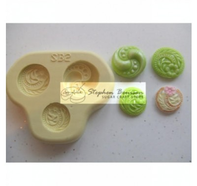 Sugar Artistry Floral button / brooch accents