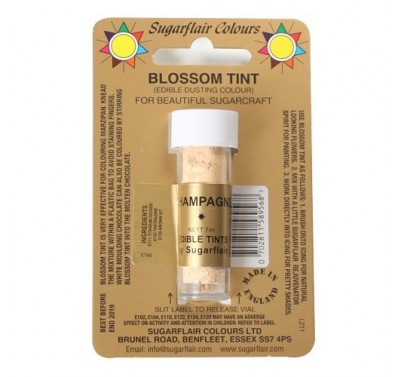 Sugarflair Blossom Tint Edible Dusting Colour - Champagne