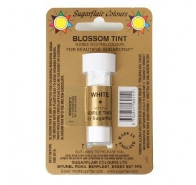 Sugarflair Blossom Tint Edible Dusting Colour - White