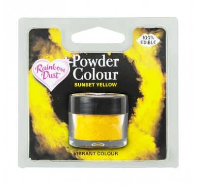 RD Powder Colour - Sunset Yellow