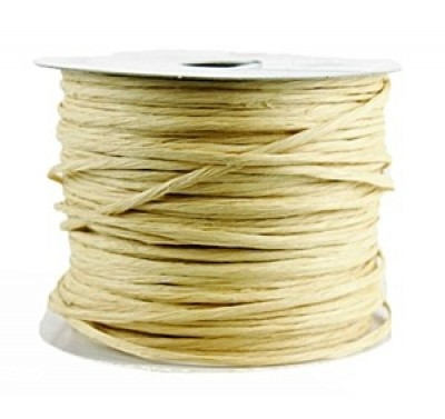 Paper covered wire Natural Ivory