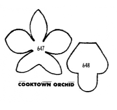 Tinkertech Two Cutters Cooktown Orchid
