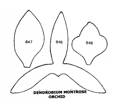 Tinkertech Two Cutters Dendrobium Montrose 846-8