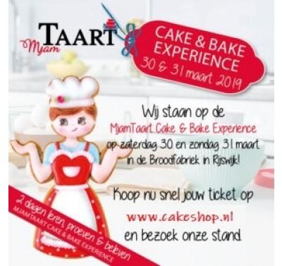 MjamTaart Cake & Bake Experience - toegangskaart