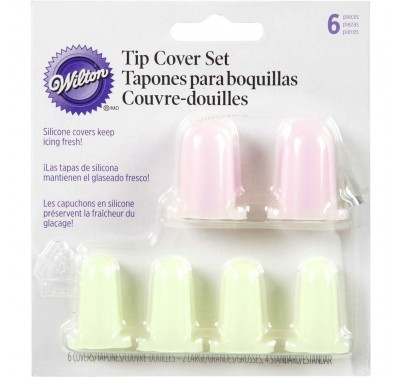 Wilton Silicone Decorating Tip Covers pk/6