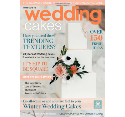 Wedding Cakes Magazine Winter 2018-19