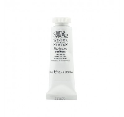 Winsor & Newton White Gouache 14mL