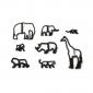 Patchwork Cutters - Safari Silhouette Set