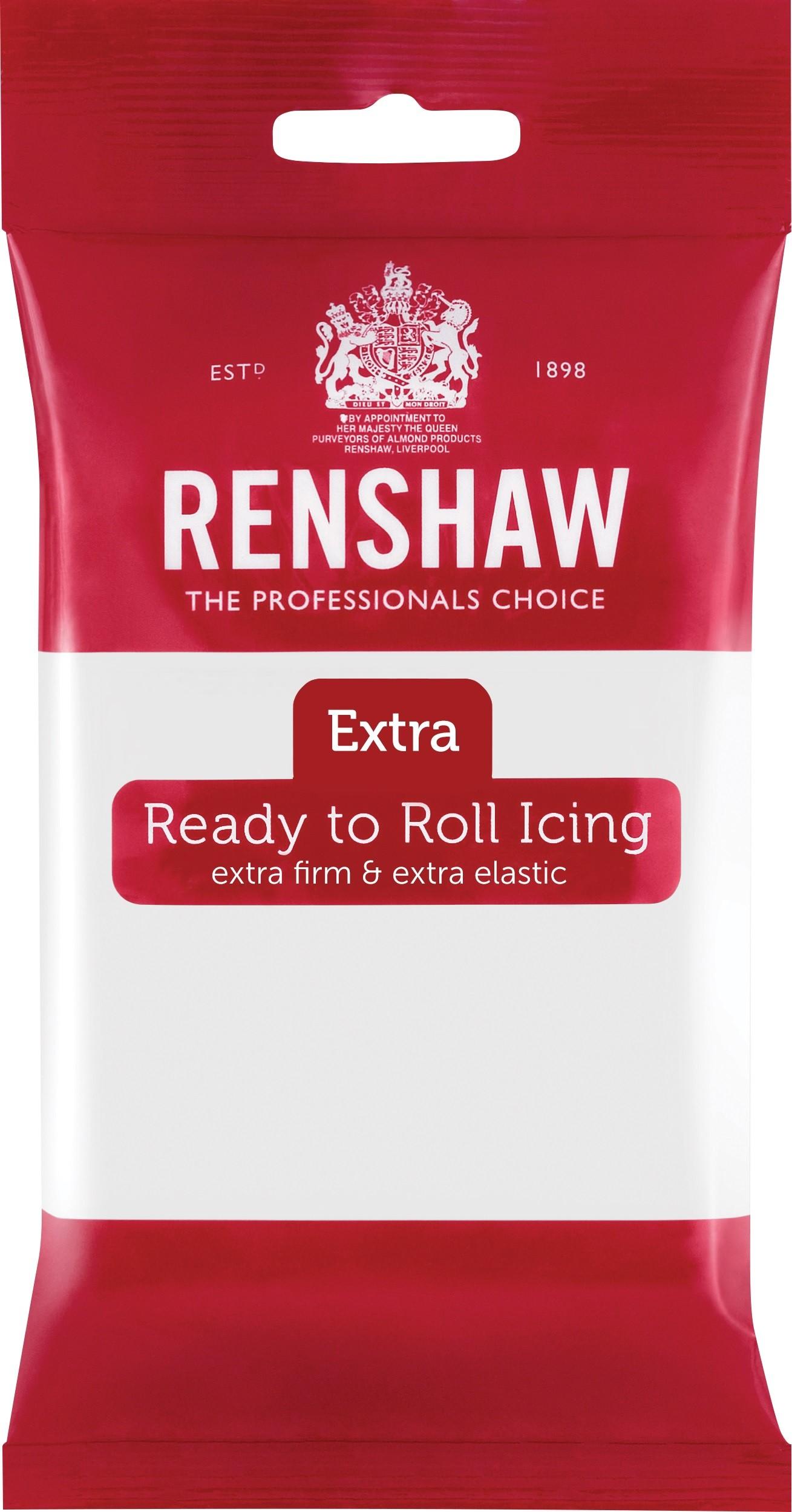 Renshaw Rolfondant Extra 250g -White-