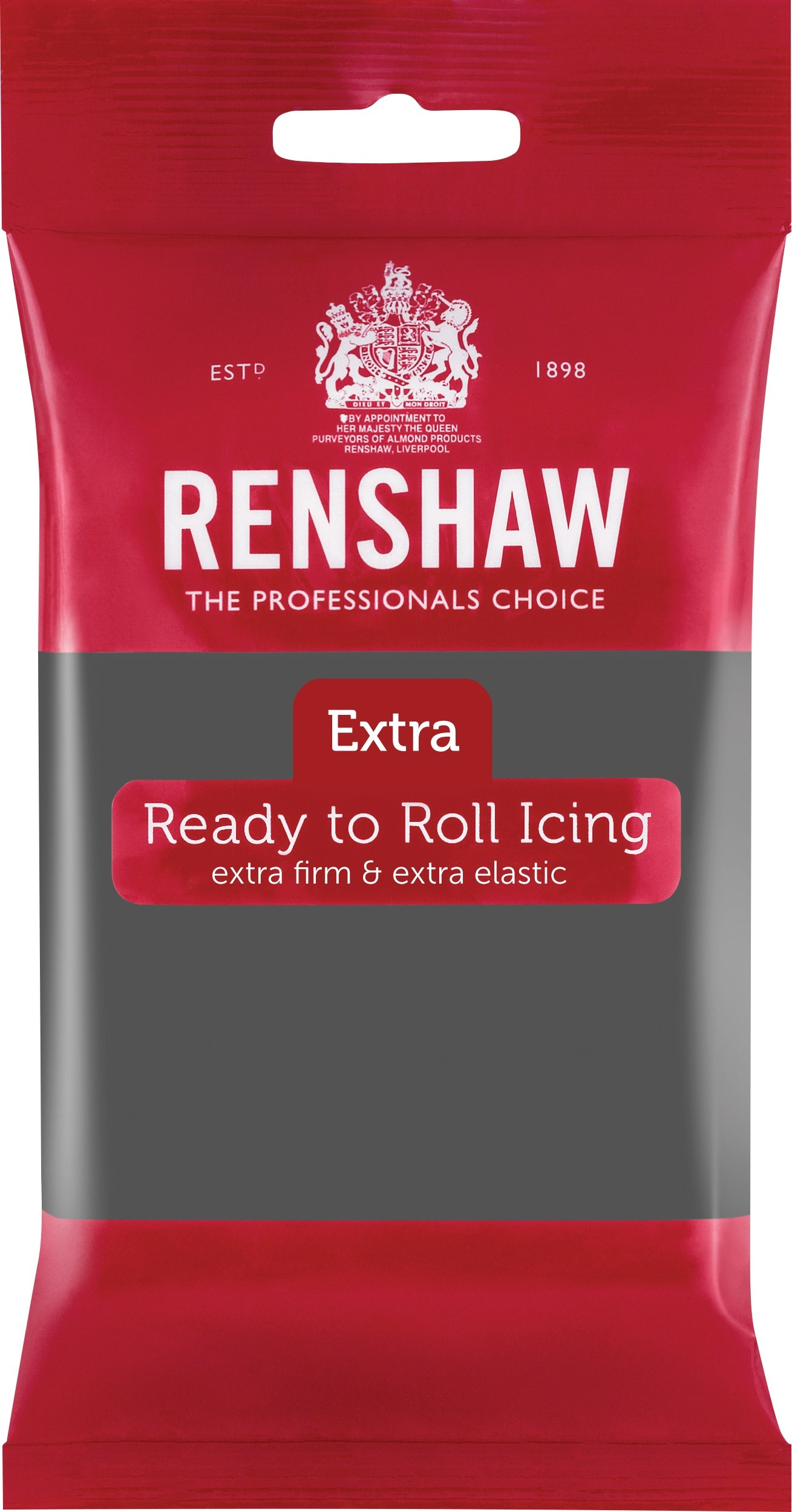 Renshaw Rolfondant Extra 250g -Grey-
