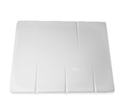 Grooved  Board White
