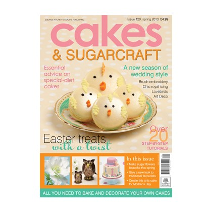 Cakes & Sugarcraft 120 Spring 2013