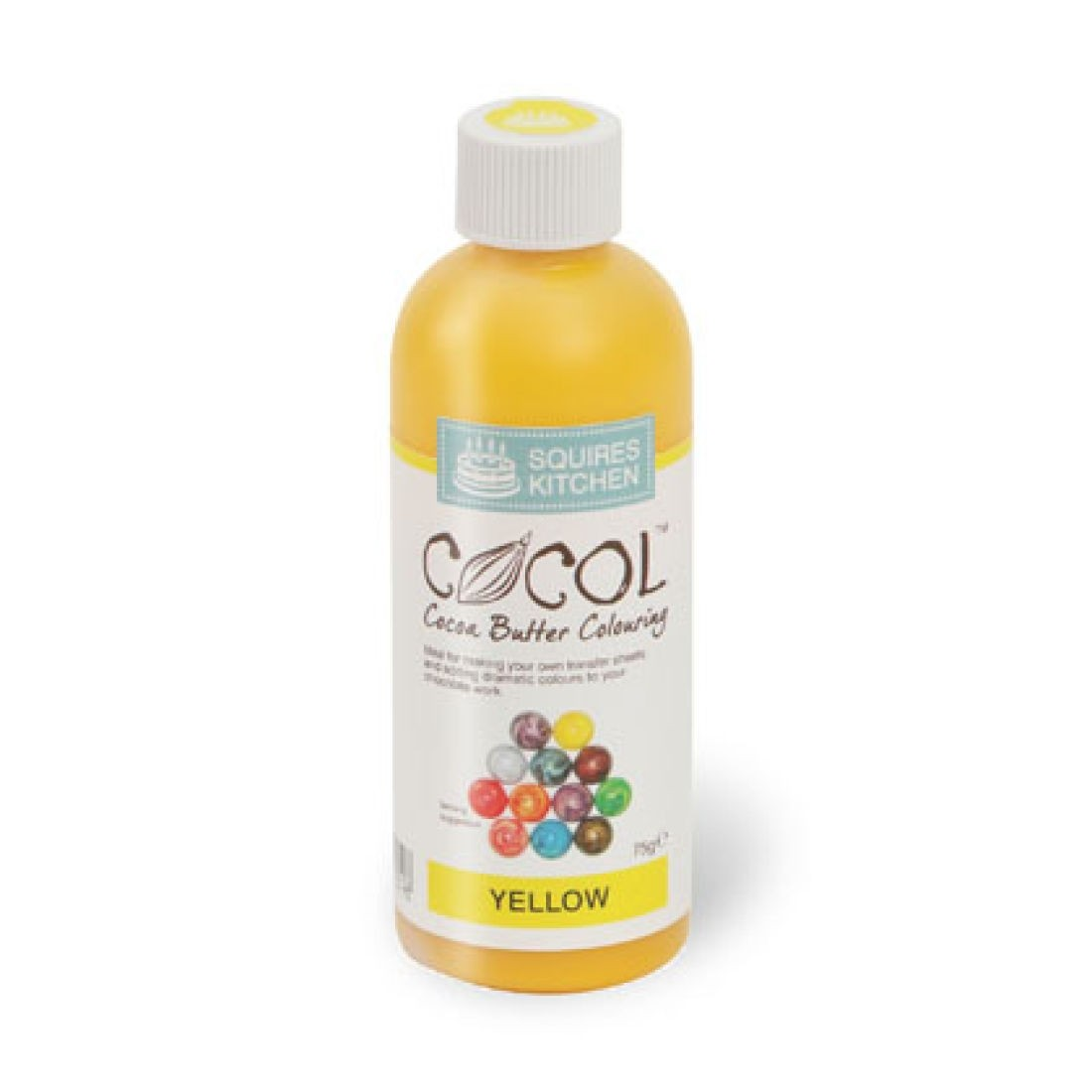 SK Professional COCOL Chocolate Colouring 75g Yellow