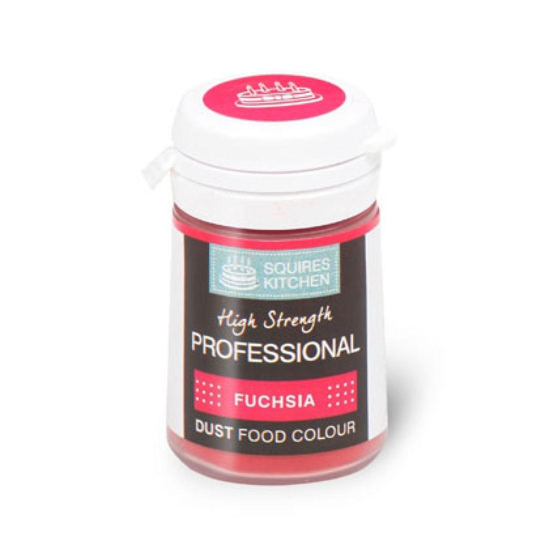 SK Professional Dust Food Colour Fuchsia