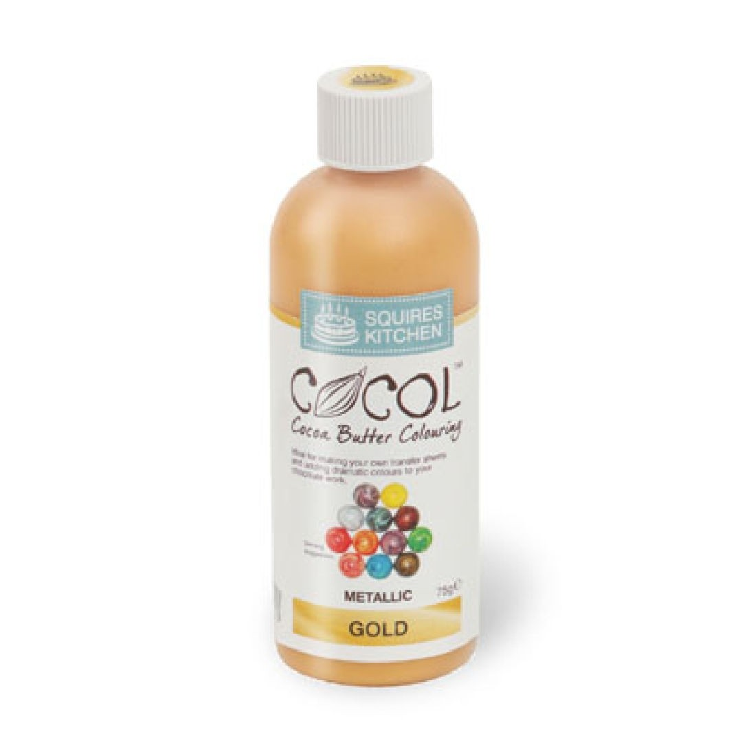 SK Professional COCOL Chocolate Colouring 75g Gold